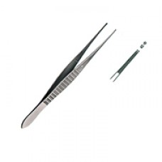 GILLIES TISSUE FORCEPS, 1X2 TEETH 15CM
