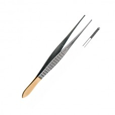 GILLIES FORCEPS, T/C, STRAIGHT 15CM
