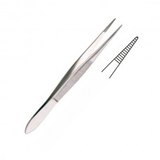KRONECKER DISSECTING FORCEPS, 8CM, SERRATED