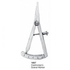 Measuring Instruments Castroviejo's Scleral Marker