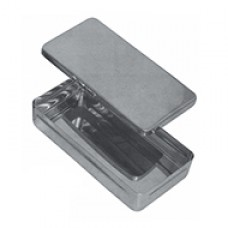 STERLIZING BOX Available in dif. sizes 17x17x3 cm 20x10x4 cm 25x12x6 cm 30x14x6 cm