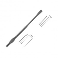 WALTER OSTEOTOME, 19CM, 2MM, STRAIGHT