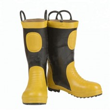 Fire fighting rubber boot
