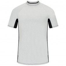 FR BASE LAYER TEE WITH MESH GUSSET