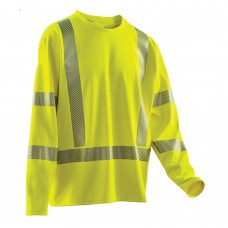 HI-VIZ COMFORT MESH LONG SLEEVE SHIRT, ANSI 107 CLASS 3