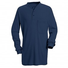 FR LONG SLEEVE HENLEY IN EXCEL FR 100% COTTON