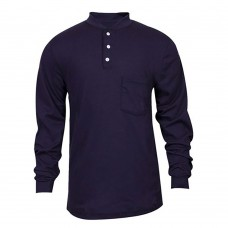 FR LONG SLEEVE HENLEY IN CLASSIC COTTON™